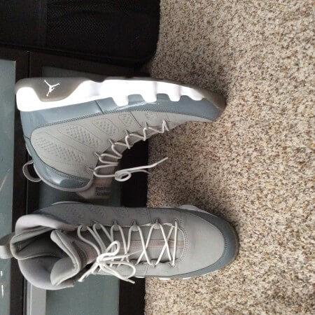"the latest 9db93 9c468 Air Jordan 9 Retro ""Cool Grey 2012 Release"" 302370015"