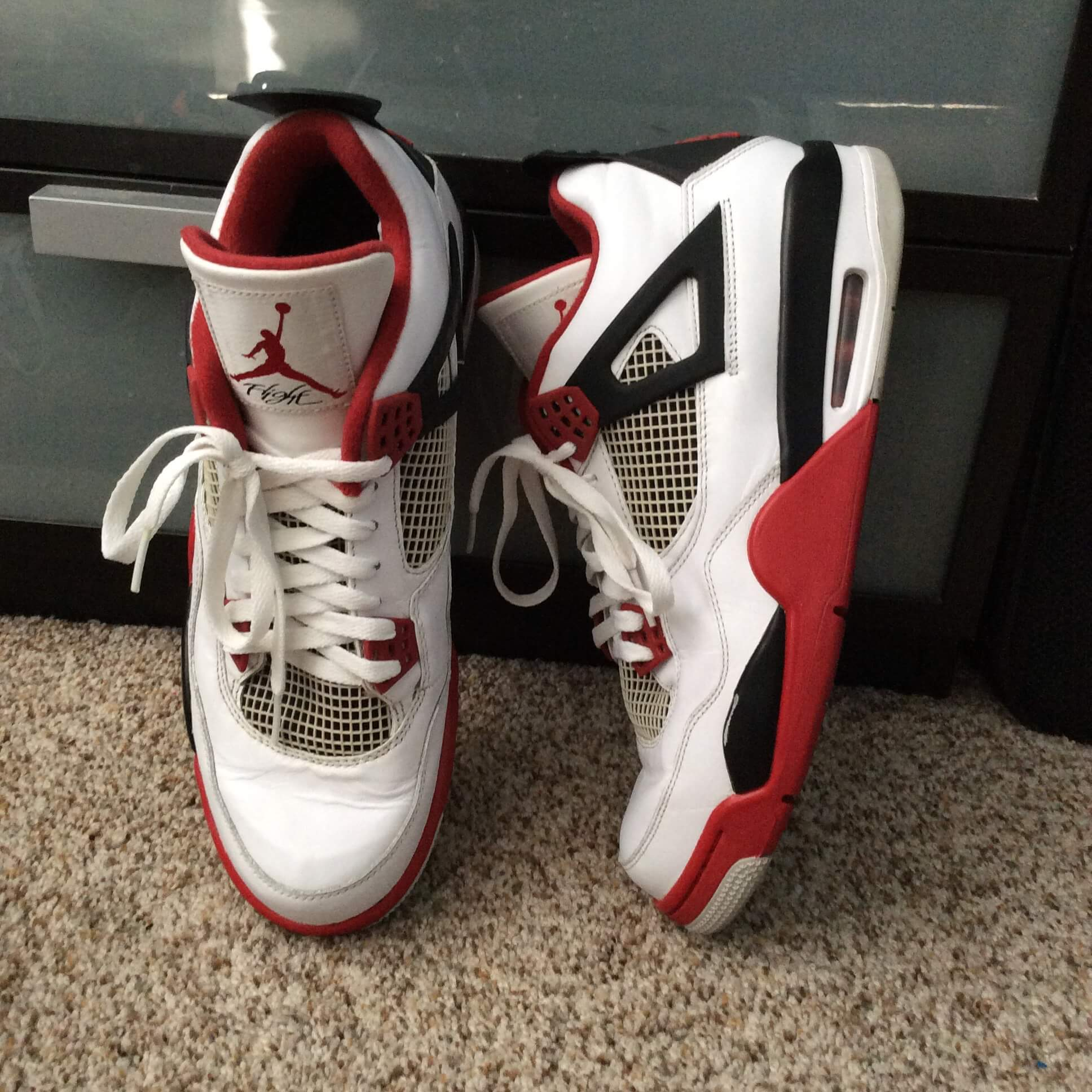 "official photos 6b46e 6200d Air Jordan 4 Retro ""2012 Release "" white varsity red-black 308497110"